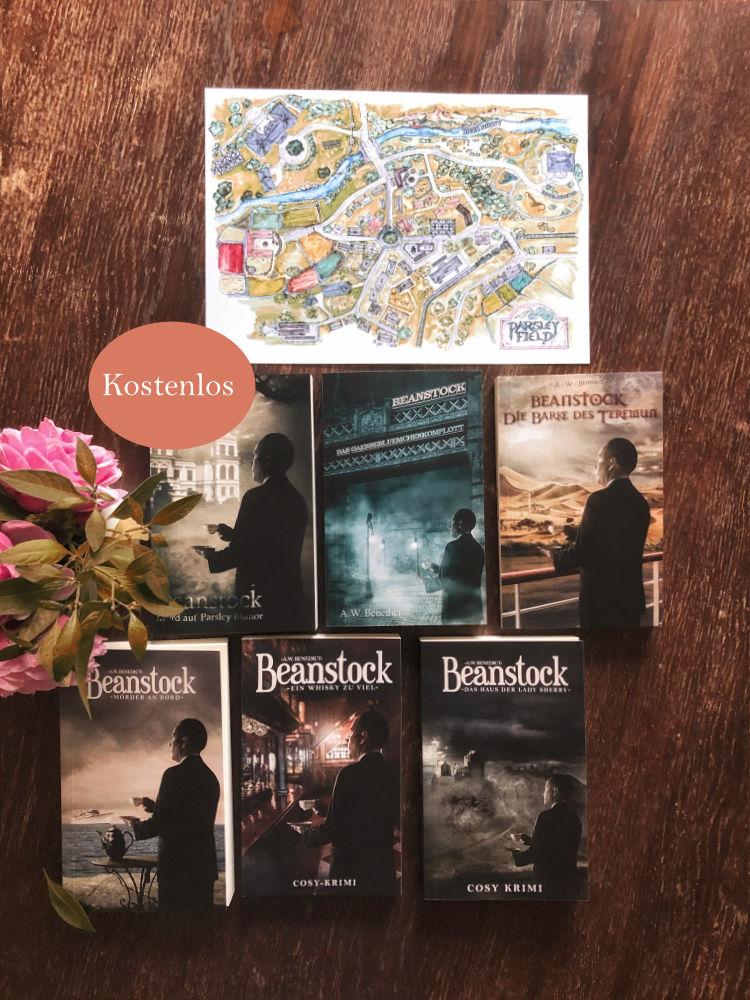 Beanstock Cosy-Krimi Buchset mit 6 Büchern