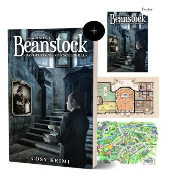 Beanstock Buch + Poster + Kartendoppelpack