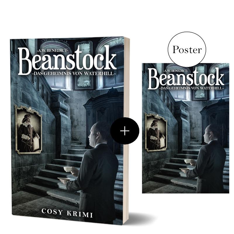 Beanstock Das Geheimnis von Waterhill Taschenbuch + Poster
