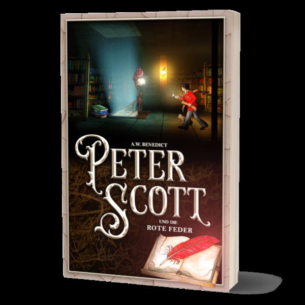 Peter Scott und die rote Feder Band 3